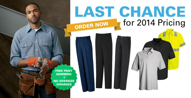 Last Chance for 2014 Uniform Pricing