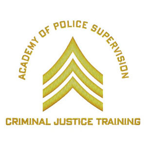 51 - Academy of Police Supervision - Criminal Justice Training Patch