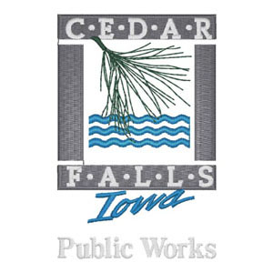 54 - City of Cedar Falls - Iowa - Public Works Patch