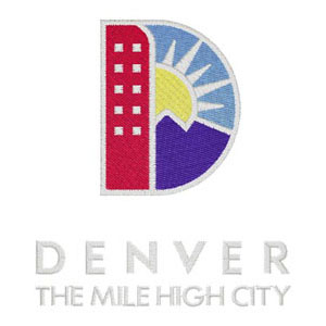 116 - City & County of Denver - Logo Patch