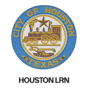 60 - City of Houston - LRN Patch