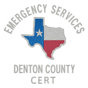 87 - Denton County - Emergency Services - CERT Patch
