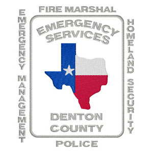 27 - Denton County - Emergency Services Patch