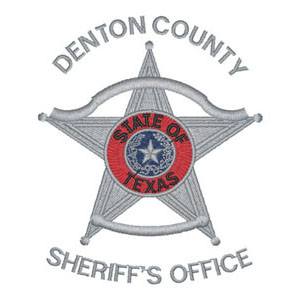 10 - Denton County - Sherrif's Office - 3 Color Patch