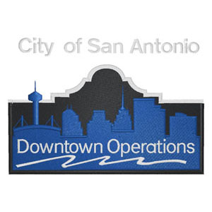 7 - City of San Antonio - Downtown Operations Patch