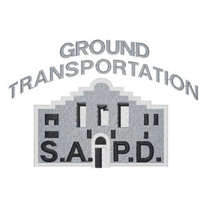 55 - City of San Antonio -Police Department - Ground Transportation Patch