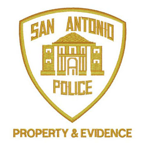 46 - City of San Antonio - Police - Property & Evidence Patch