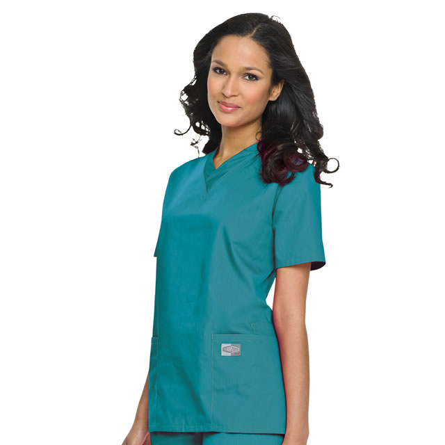 Landau scrubs v-neck tunic